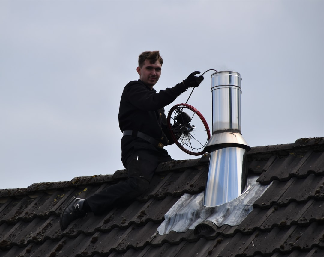 Chimney Sweeper at work
