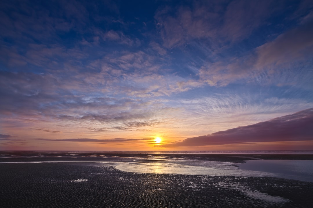 Here is a photograph taken from a sunset at Cleveleys.  Located in Cleveleys, Lancashire, England.  Website : www.michaeldbeckwith.com   Email : michael@michaeldbeckwith.com