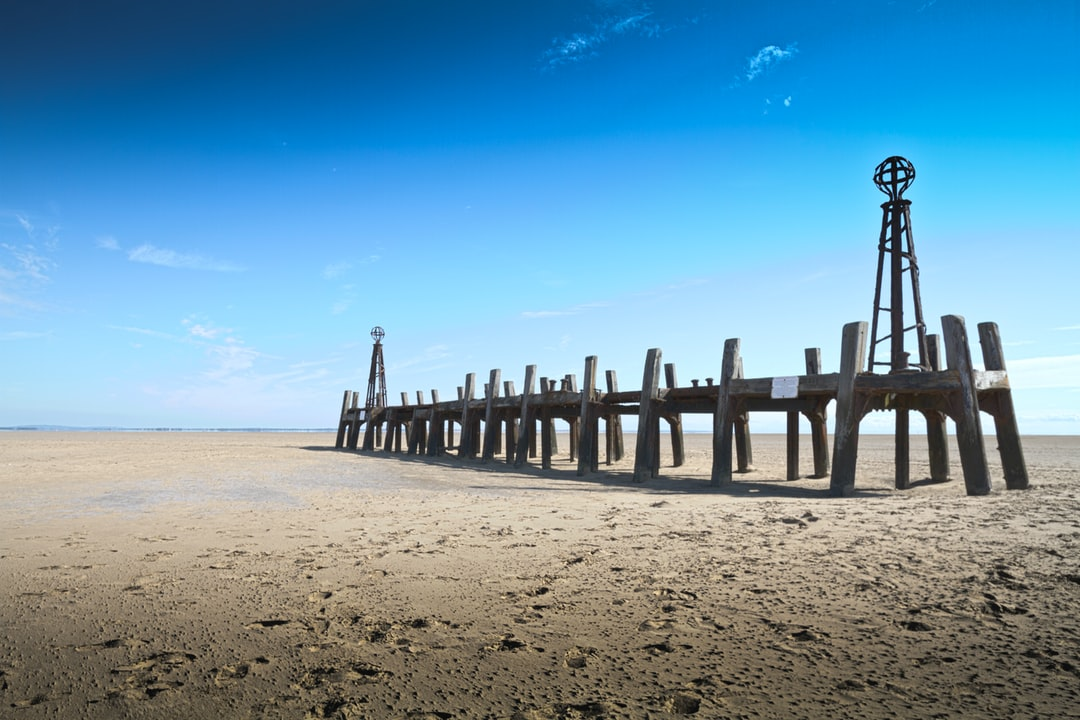Here is a photograph taken from the ruins of St Anne's Pier Jetty.  Located in St Anne's, Lancashire, England.  Website :  www.michaeldbeckwith.com   Email : michael@michaeldbeckwith.com