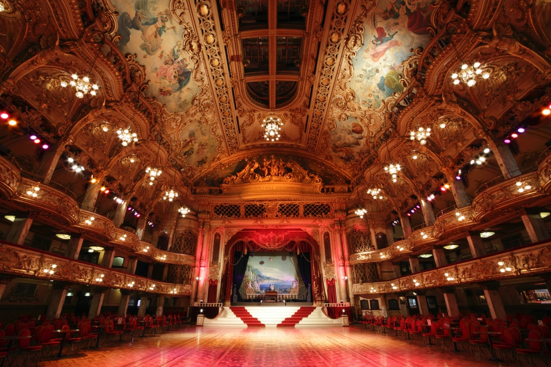 Here is a photograph of Blackpool Tower Ballroom inside Blackpool Tower.  Located in Blackpool, Lancashire, England.  Website : www.michaeldbeckwith.com   Email : michael@michaeldbeckwith.com