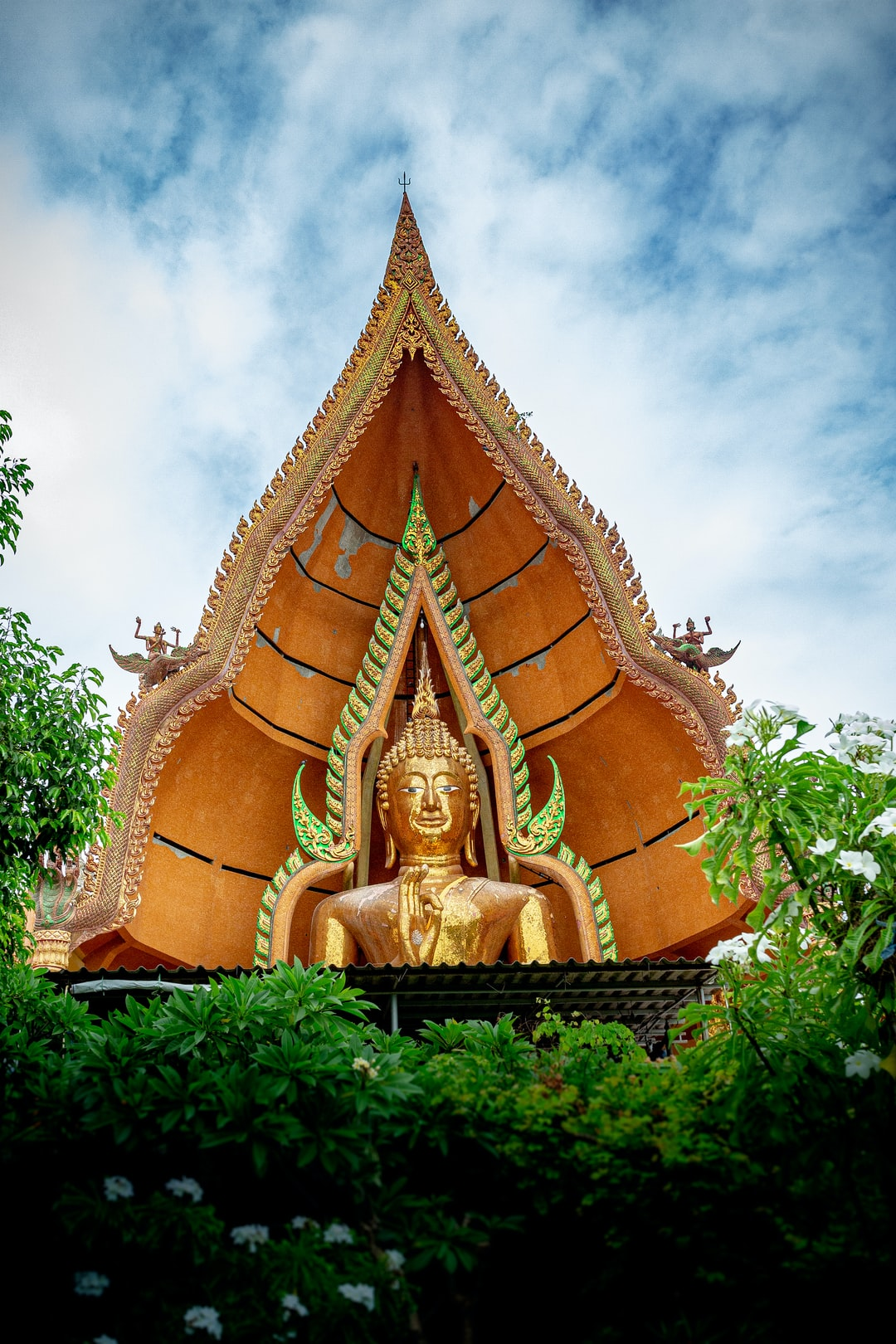 Big Buddha Statue at Wat Tham Sua Temple in Kanchanaburi Province