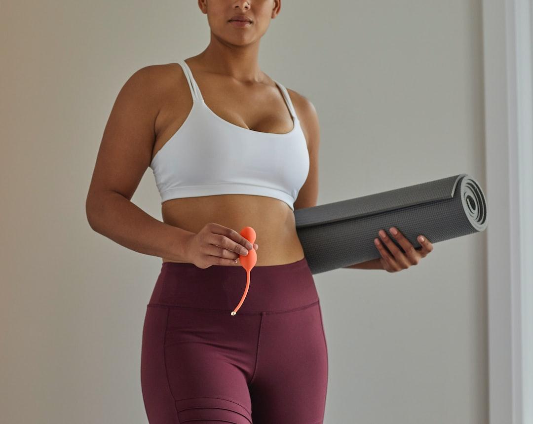 Yoga with Bloom Kegel exerciser