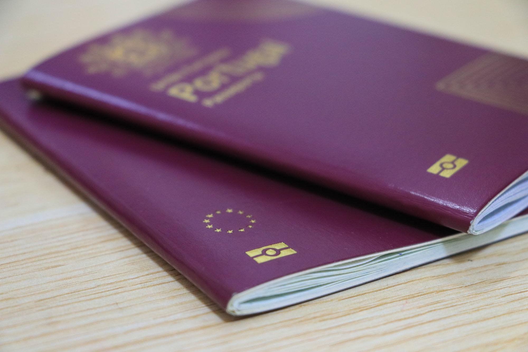Portugal and European Union Passport