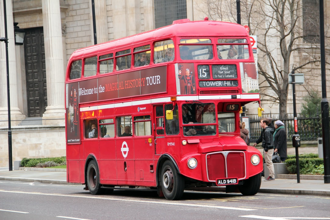 Red Classic London Double Decker Bus