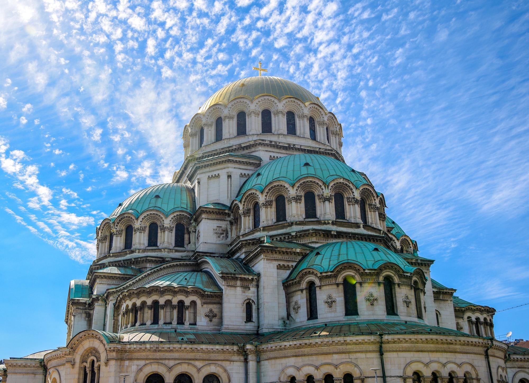 La cathédrale Alexandre-Nevski à Sofia en Bulgarie