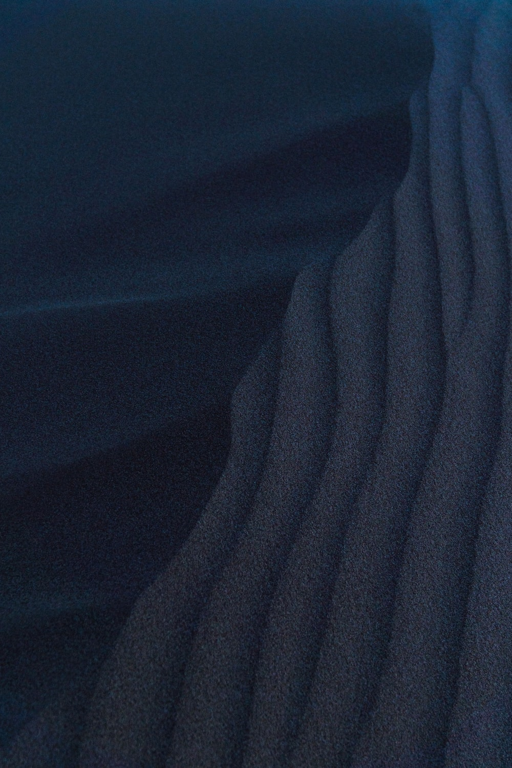 blue textile in close up image