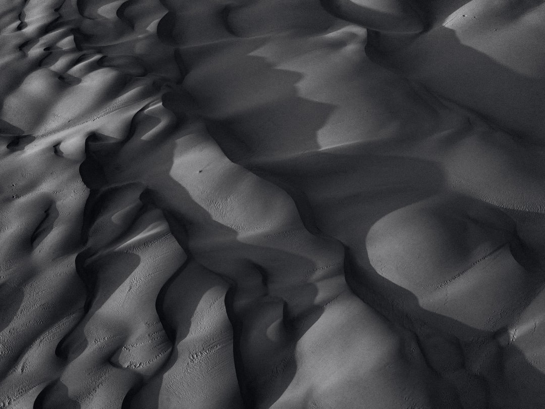 Gray Sand With Water Droplets - unsplash