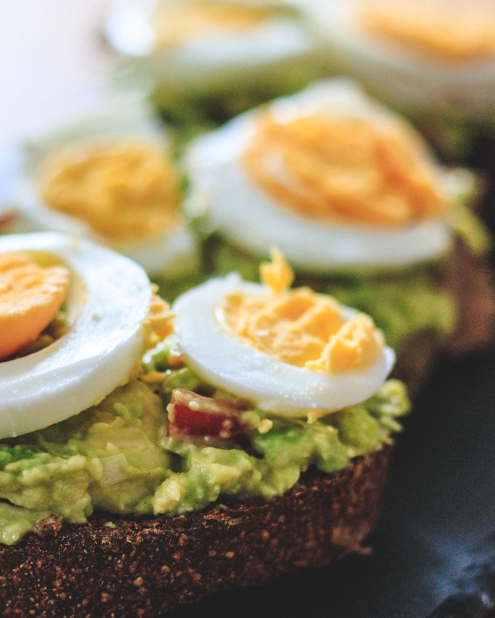 sunny side up egg on brown bread