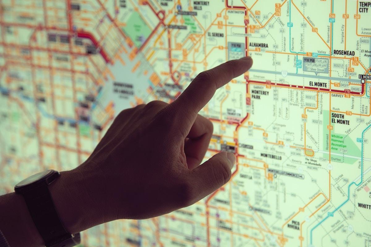 電車使うのも自転車使うのも経路を決めることが重要