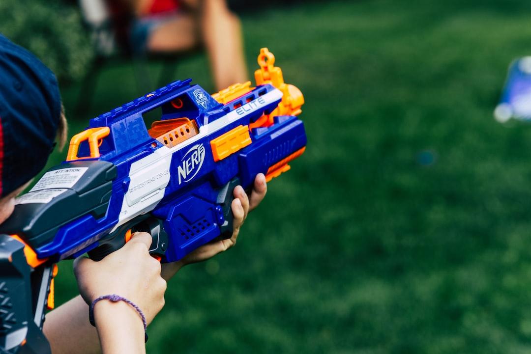 Nerf gun.
