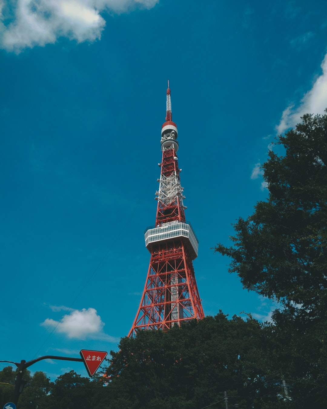 photo of the famous tokyo tower in japan