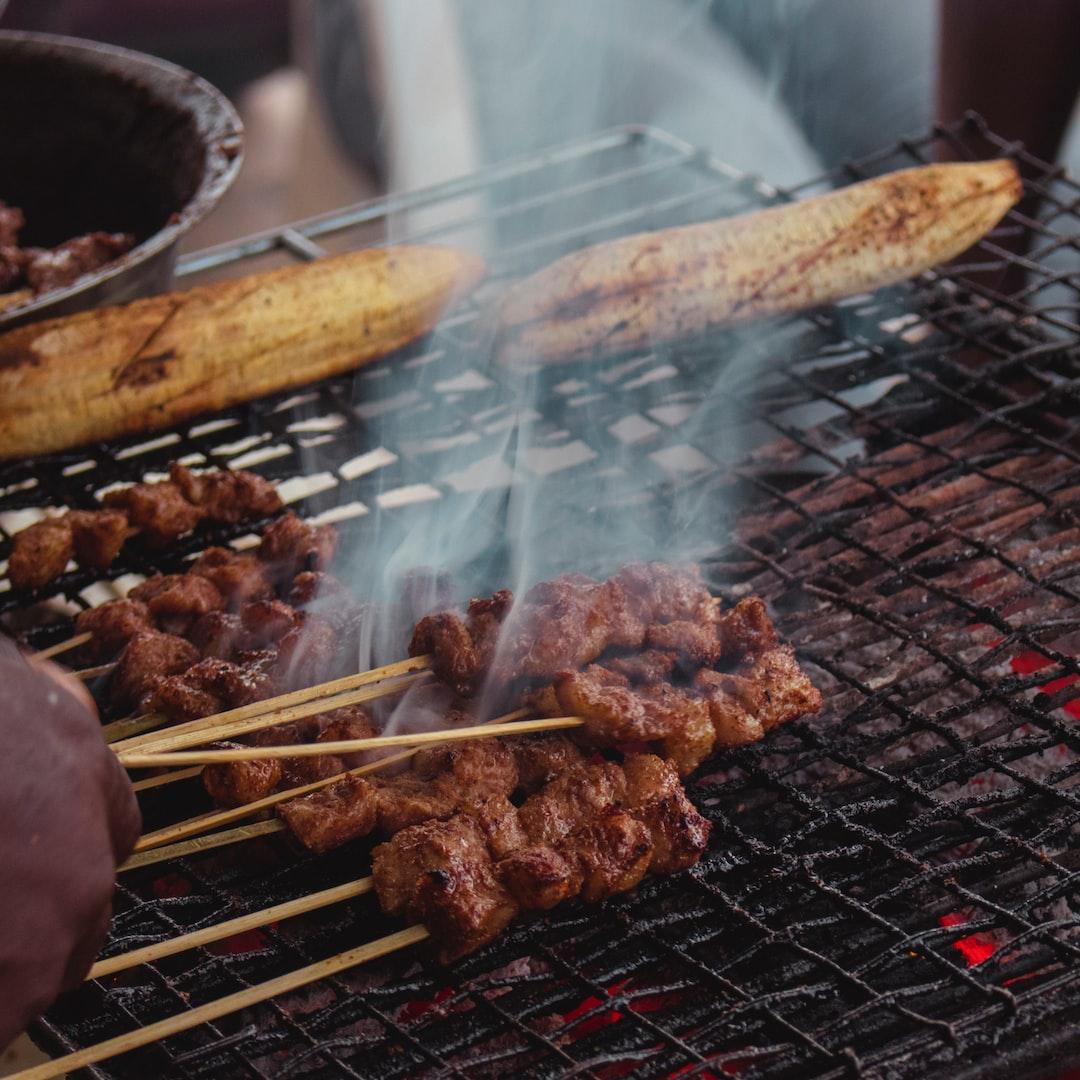 Street food in Cameroon