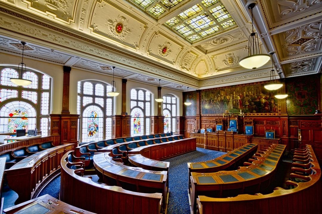 Here is a photograph taken from the council chambers inside Blackpool Town Hall.  Located in Blackpool, Lancashire, England.  Website : www.michaeldbeckwith.com   Email : michael@michaeldbeckwith.com