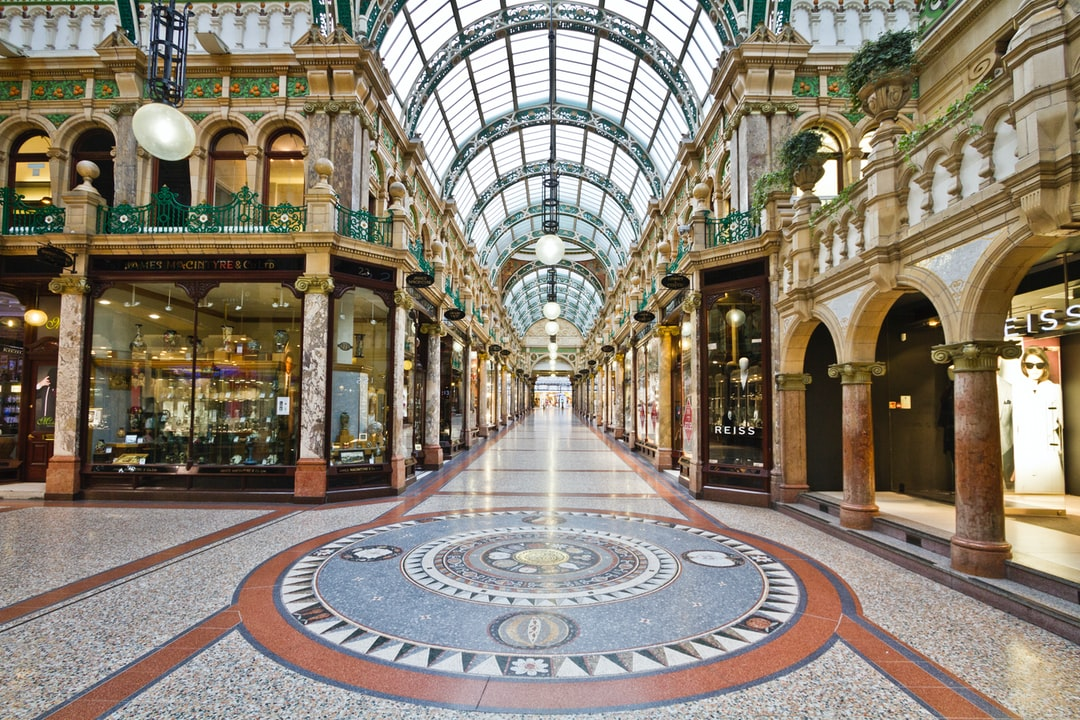 Here is a photograph taken from County Arcade Victoria Quarter.  Located Leeds, Yorkshire, England.  Website : www.michaeldbeckwith.com    Email : michael@michaeldbeckwith.com
