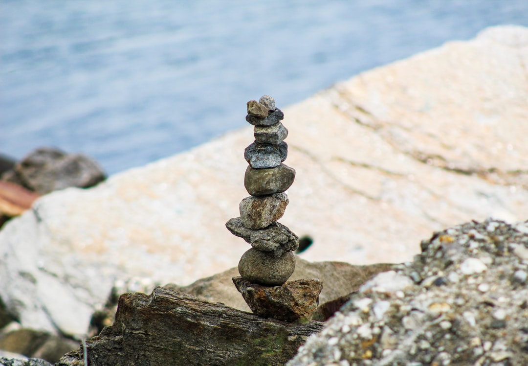 Rock Cairn Stack of Stone