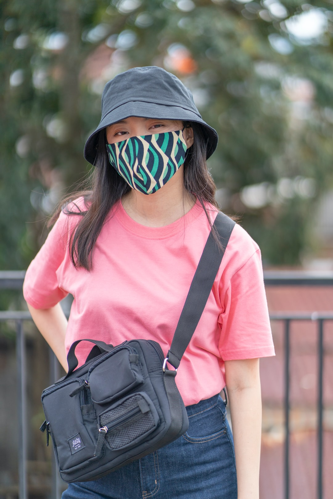 Fashion shoot during pandemic for Flashy Shop, Bandung - Indonesia.