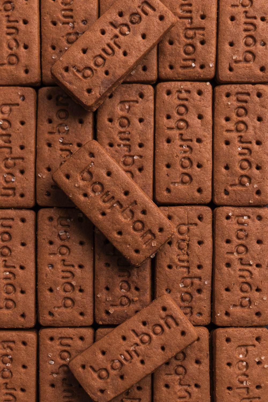 brown and black square blocks
