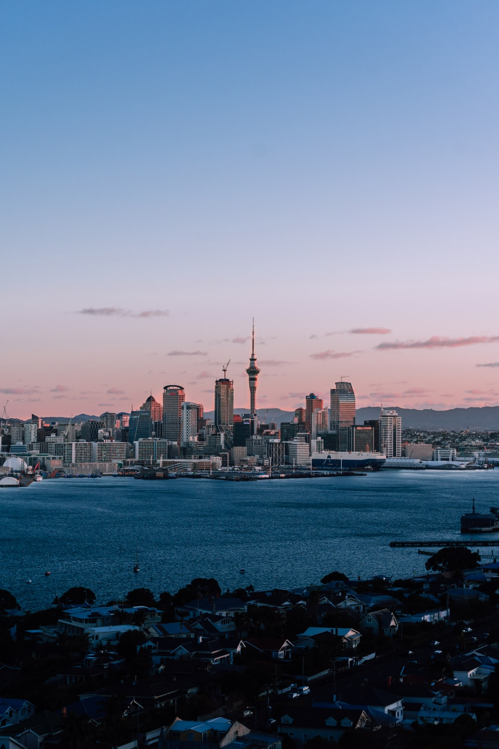Auckland New Zealand Pictures Download Free Images On Unsplash New zealand city buildings sea clouds