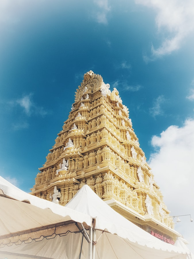 Gopuram of Chamundi temple
