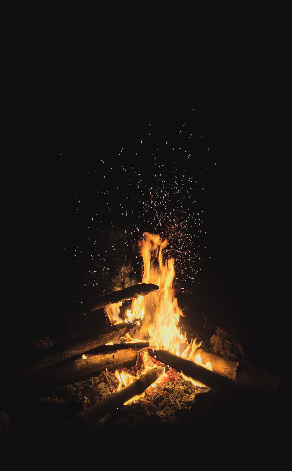 fire in the middle of fire