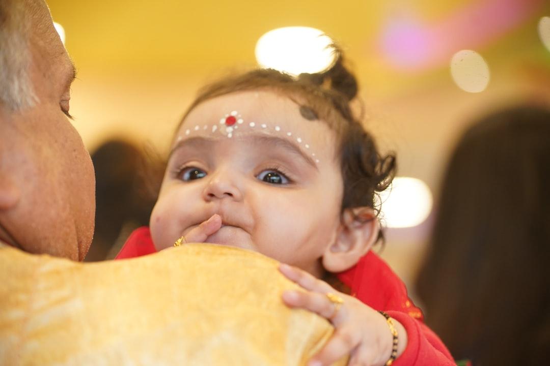 Baby girl Annaprasan