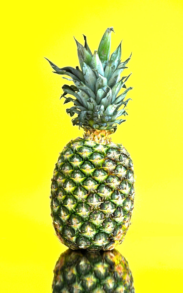 Pineapple to eliminate toxins and lose weight
