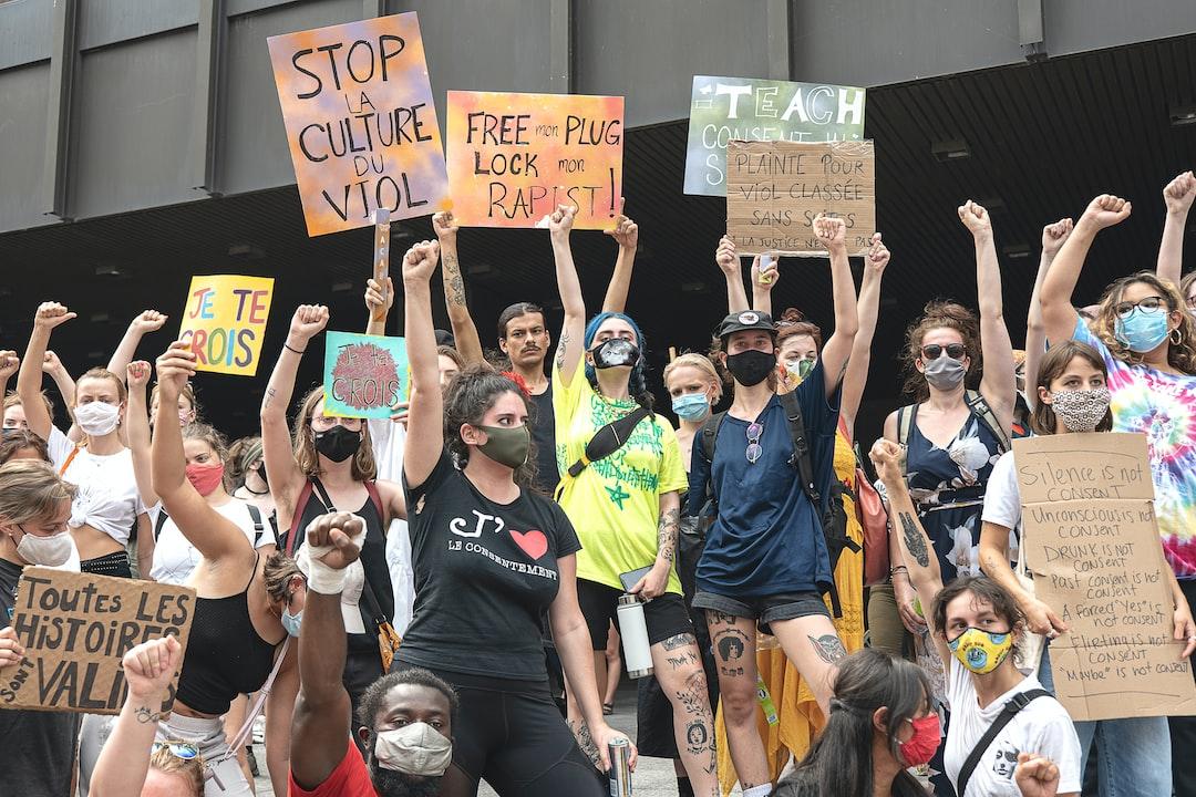 Manifestation contre les agressions sexuelles - dimanche 19 juillet 2020 - Montréal