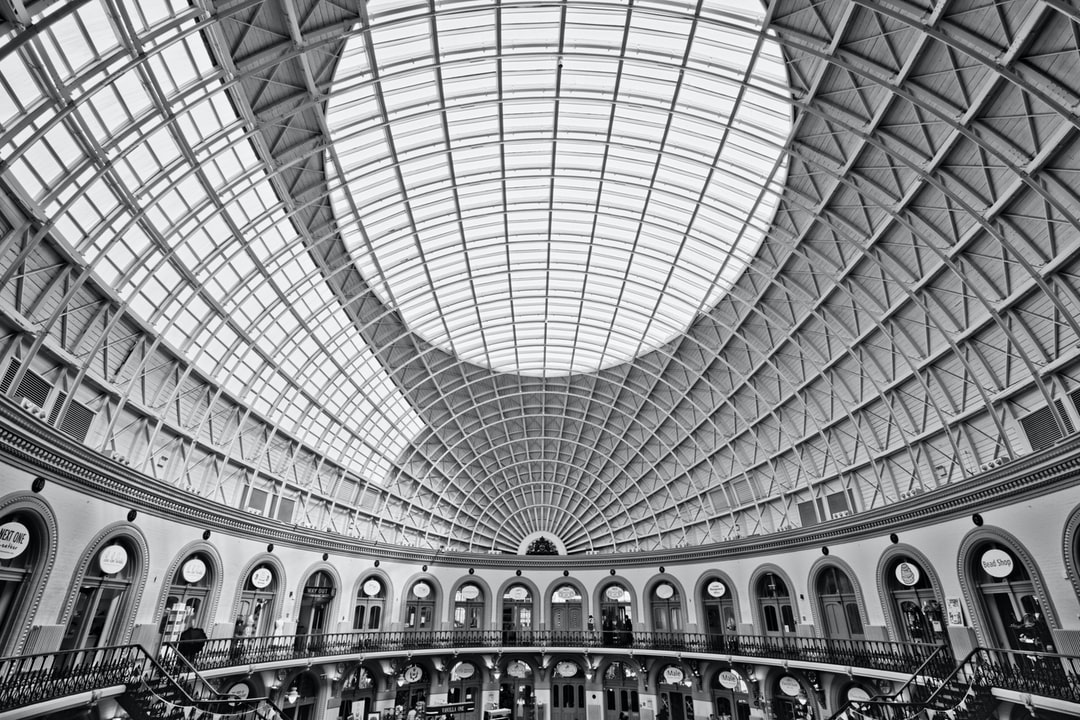 Here is a photograph taken from the Leeds Corn Exchange.  Located in Leeds, Yorkshire, England.  Website : www.michaeldbeckwith.com  Email : michael@michaeldbeckwith.com