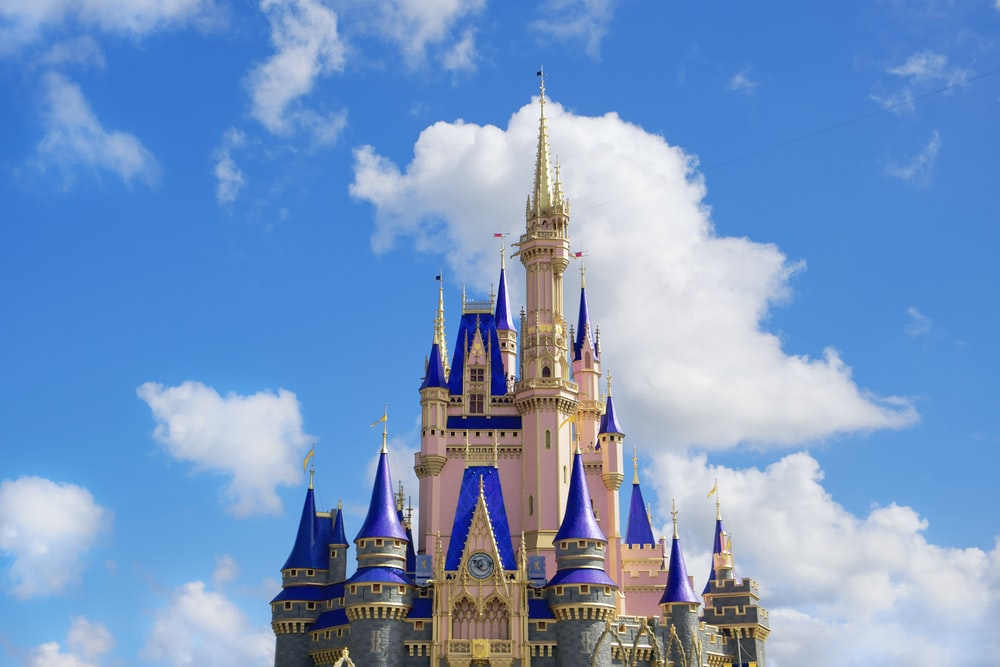 white and blue castle under blue sky during daytime