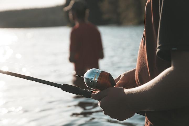 Fishing at Lake Nodens