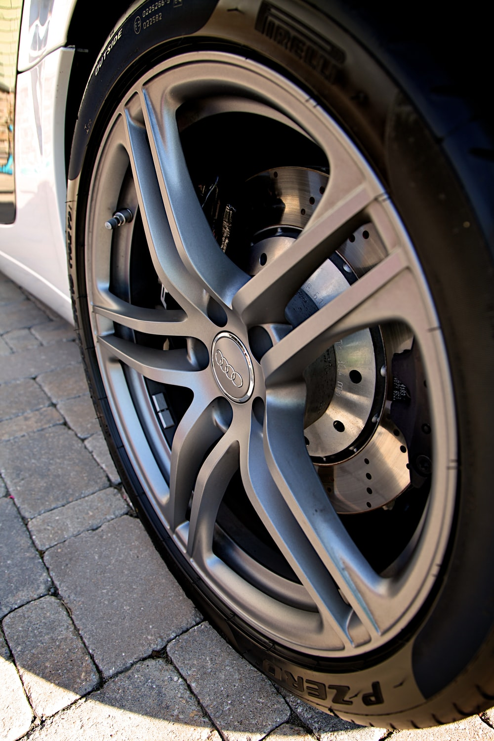 gray mercedes benz wheel with tire