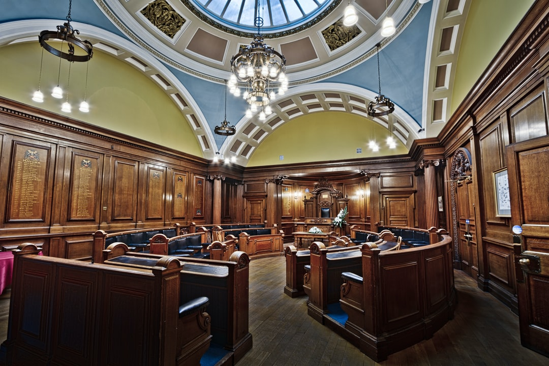 Here is a photograph taken from the council chambers inside Lancaster Town Hall.  Located in Lancaster, Lancashire, England.  Website : www.michaeldbeckwith.com  Email : michael@michaeldbeckwith.com