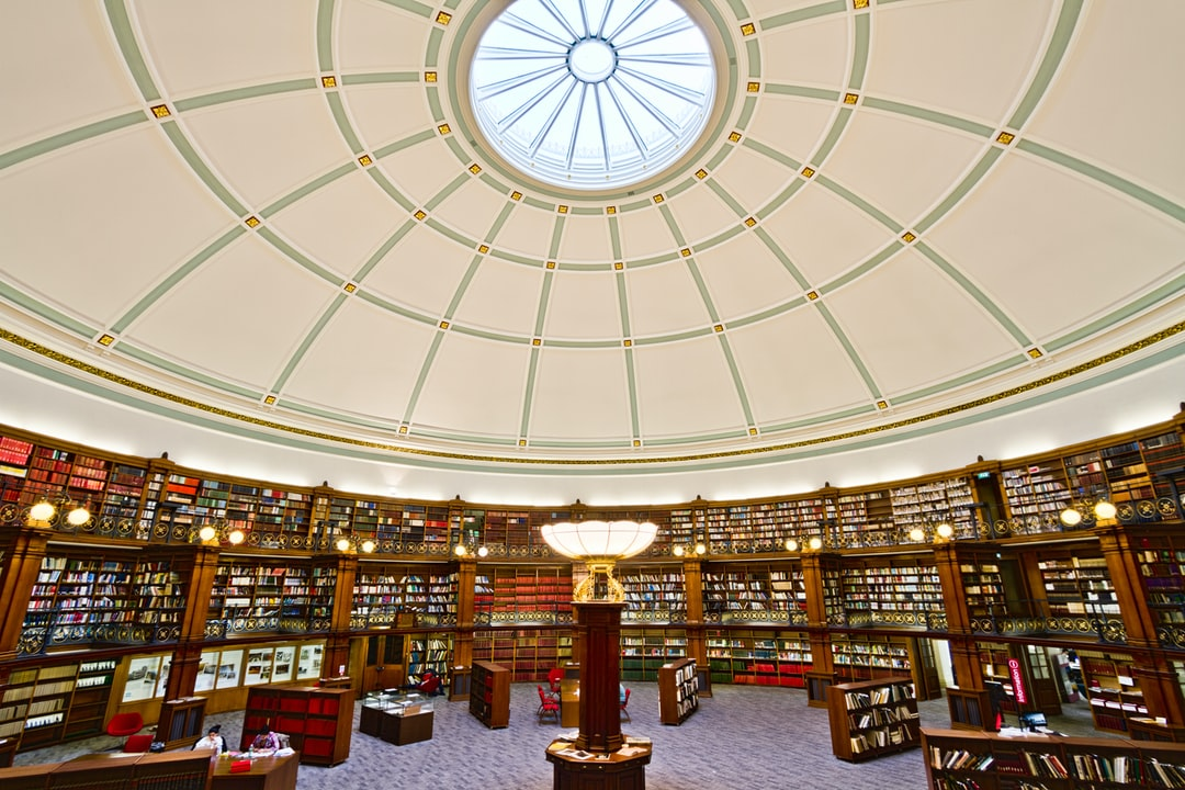 Here is a photograph taken from the Picton Reading Room inside Liverpool Central Library.  Located in Liverpool, Merseyside, England.  Website : www.michaeldbeckwith.com   Email : michael@michaeldbeckwith.com