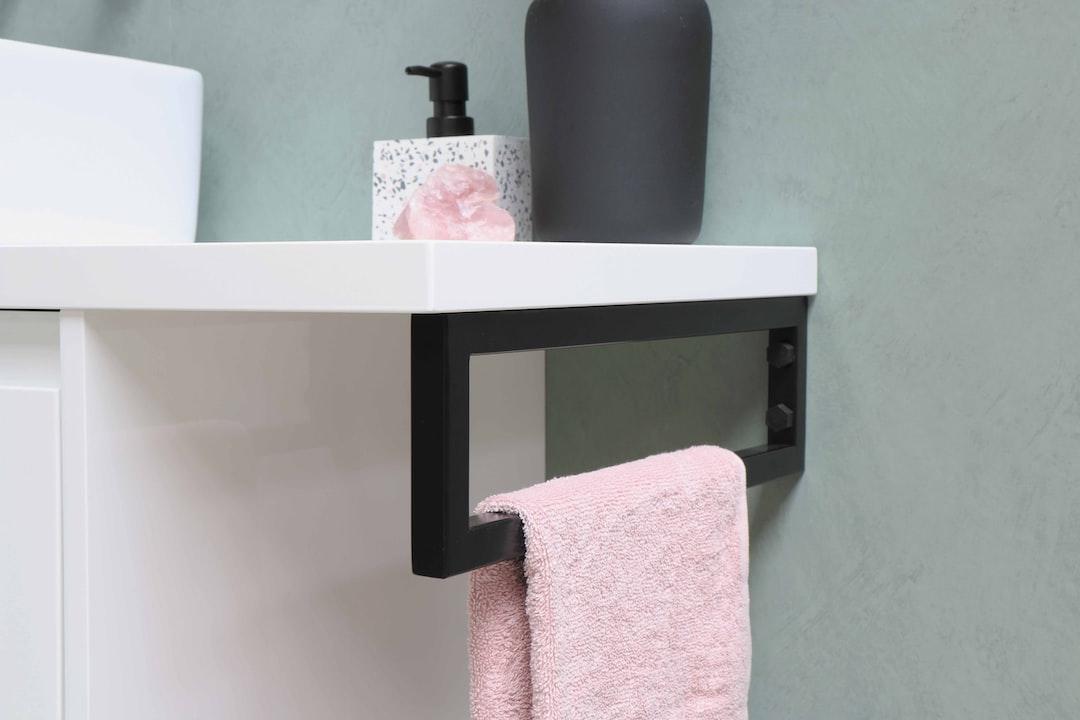 Proline - Opbouwkom Top 3 porselein rechthoek - onderkast symmetrisch 100 cm hg wit - afdekplaat 120 cm - handdoekbeugel