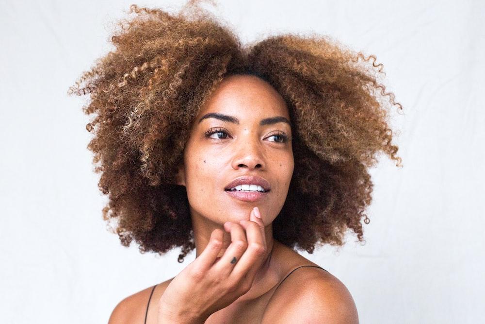 Natural hair example
