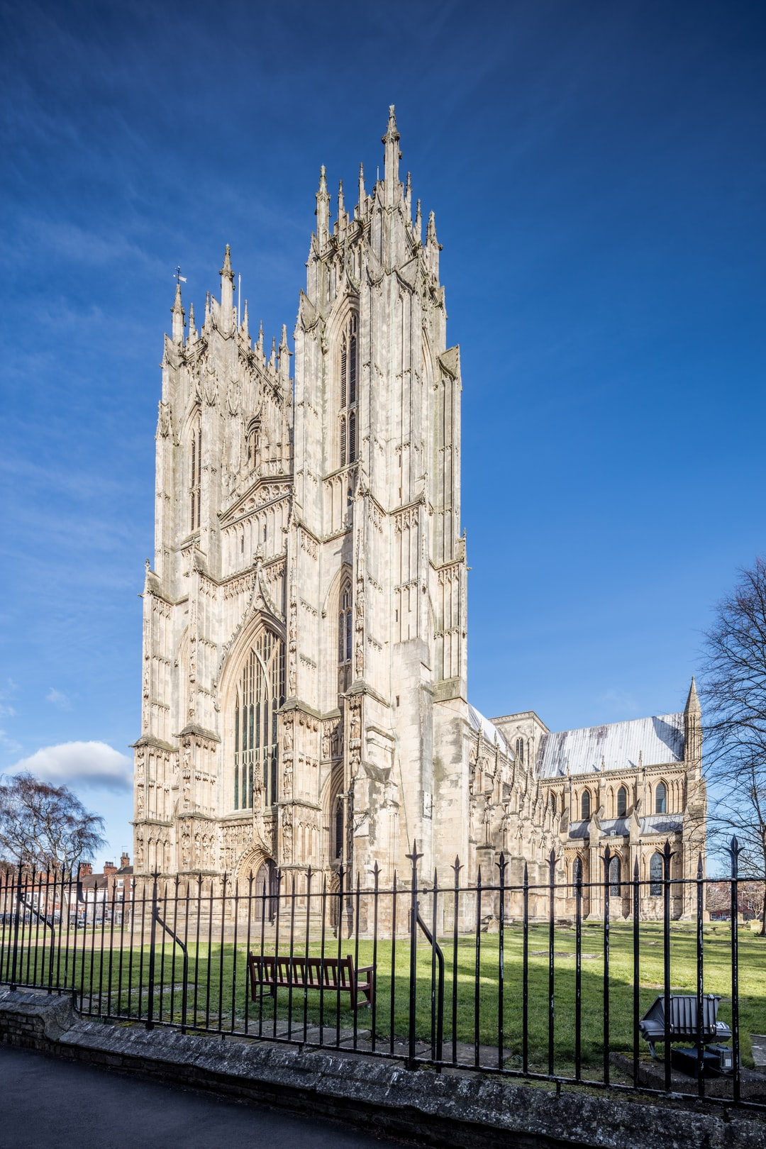 Here is a photograph taken from outside Beverley Minster.  Located in Beverley, Yorkshire, England.  Website : www.michaeldbeckwith.com   Email : michael@michaeldbeckwith.com