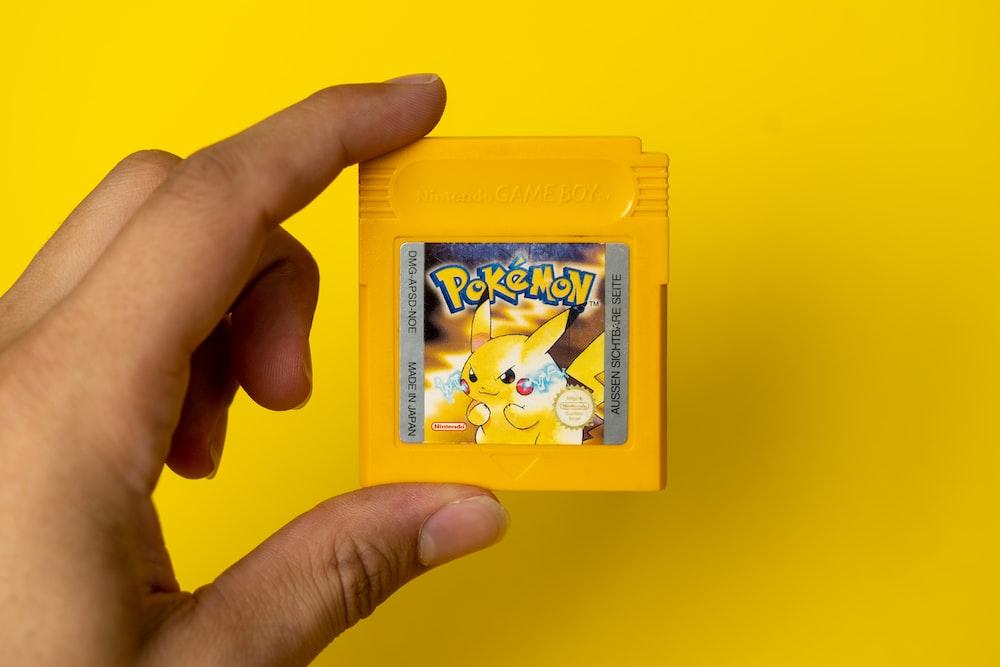 nintendo game boy pokemon game cartridge