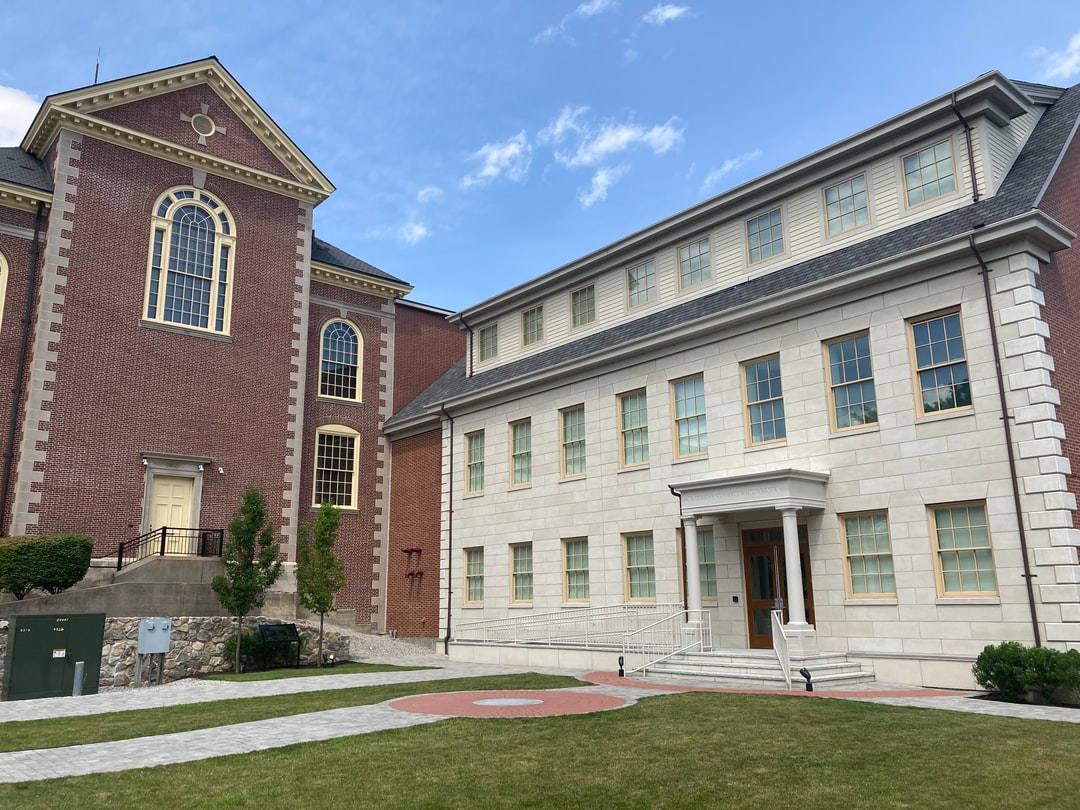 New Bedford Whaling Museum in the historic New England town of New Bedford, Massachusetts.