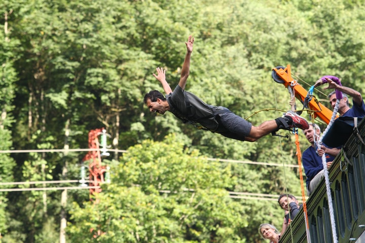 Best place for Bungee jumping in the world
