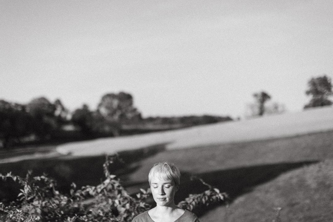 Me in a field