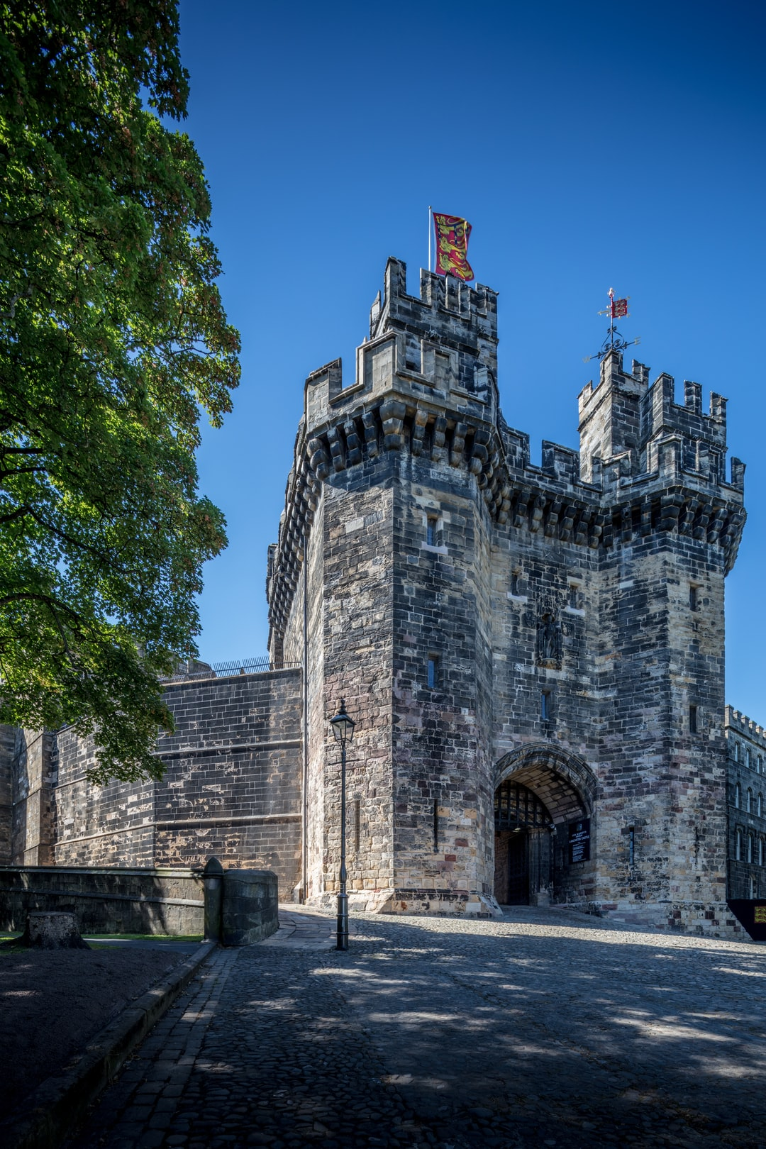 Here is a photograph taken from outside Lancaster Castle.  Located in Lancaster, Lancashire, England.  Website : www.michaeldbeckwith.com  Email : michael@michaeldbeckwith.com