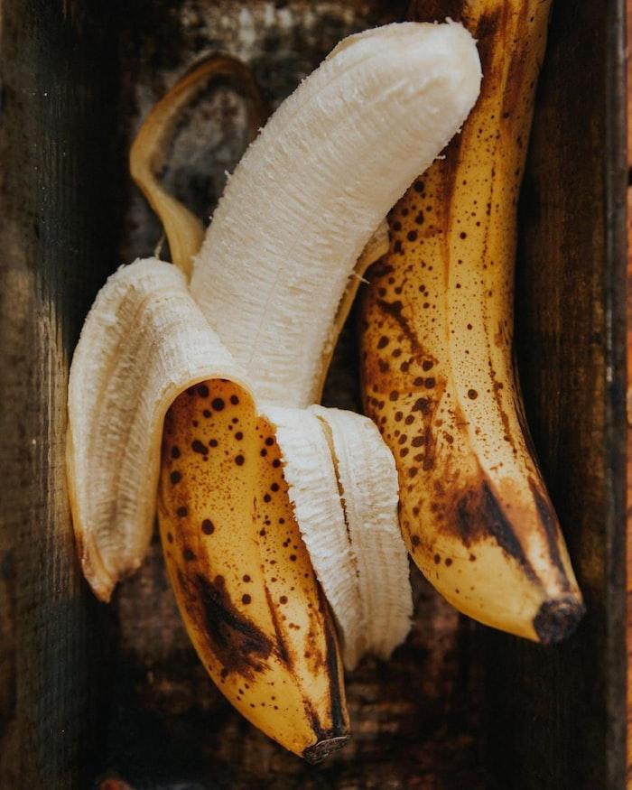 rijpe bananen zijn zoet