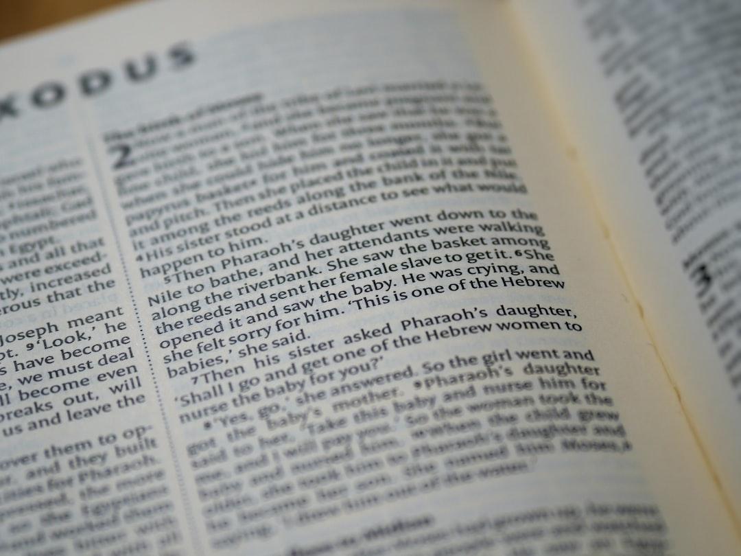 close up, bokeh, macro, blur, blurred background, close focus, bible, old testament, exodus, christian, judaism, history, text, genesis, pentateuch, reading, bible study, devotions, scripture, torah, devotions, text,