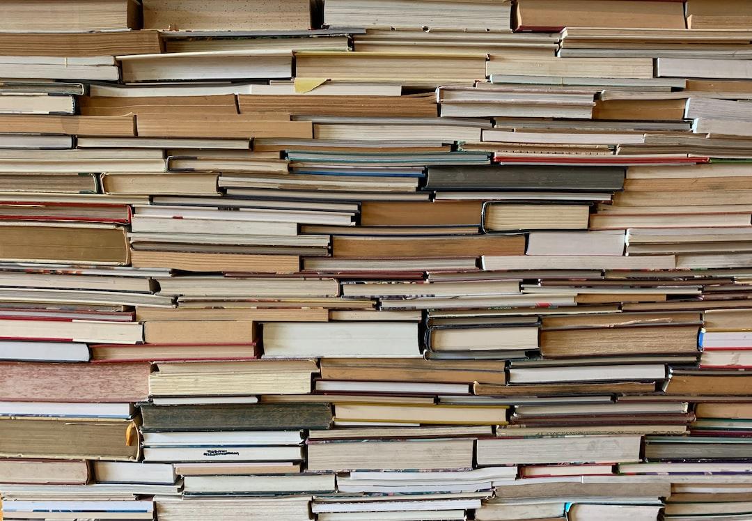 A sea of books.