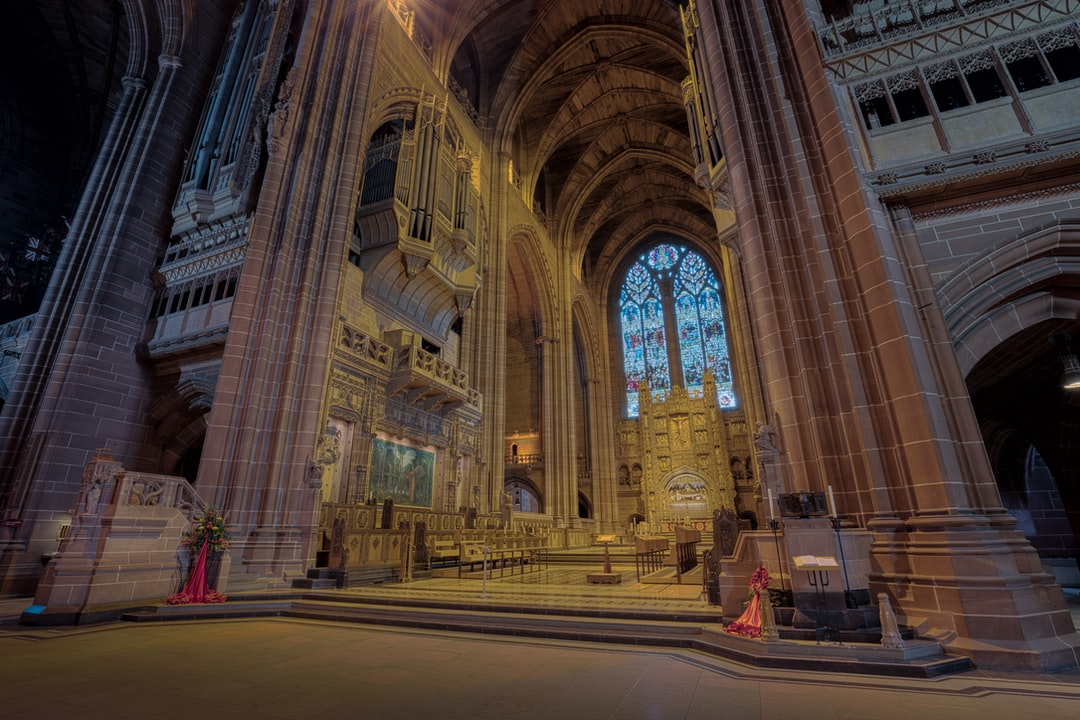 Here is a photograph taken from the altar inside Liverpool Anglican Cathedral.  Located in Liverpool, Merseyside, England.  Website : www.michaeldbeckwith.com   Email : michael@michaeldbeckwith.com