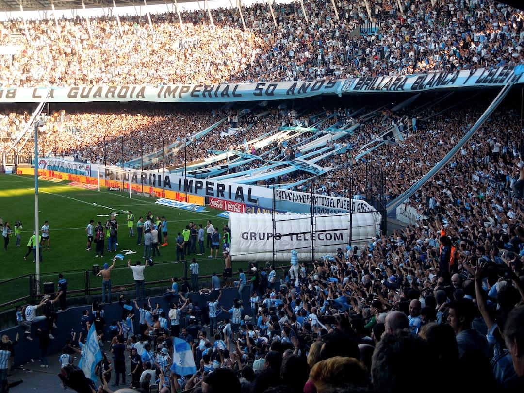 Football Game in Argentina - Racing Club de Avellaneda