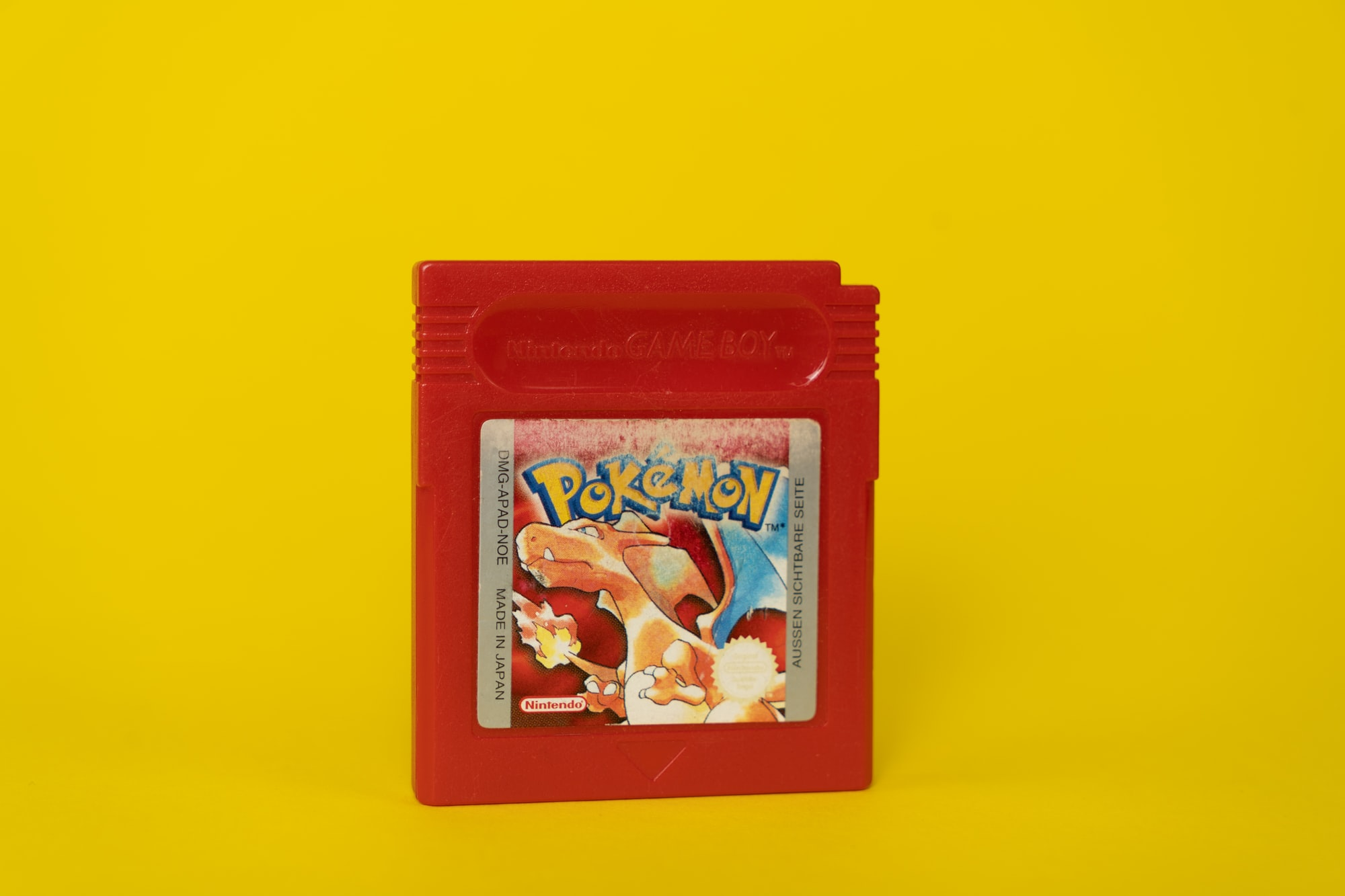 Pokemon red edition as played looooong hours in my youth. :)
