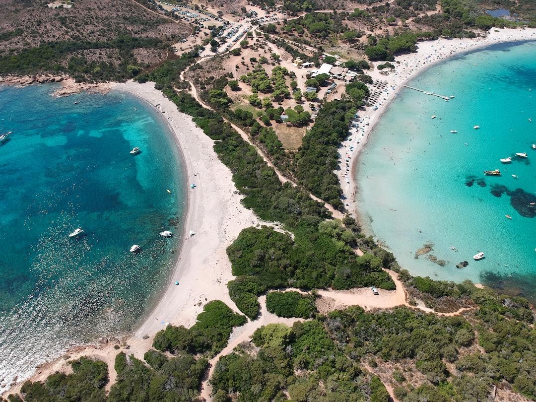 Plage de la Rondinara et Baie de Sant'Amanza, Bonifacio, Corse du Sud