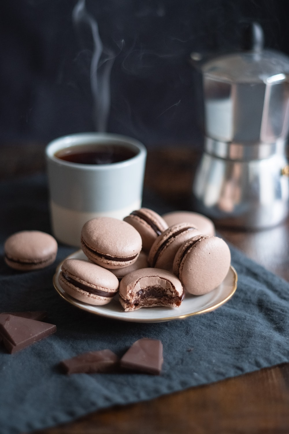 brown cookies on brown wooden tray
