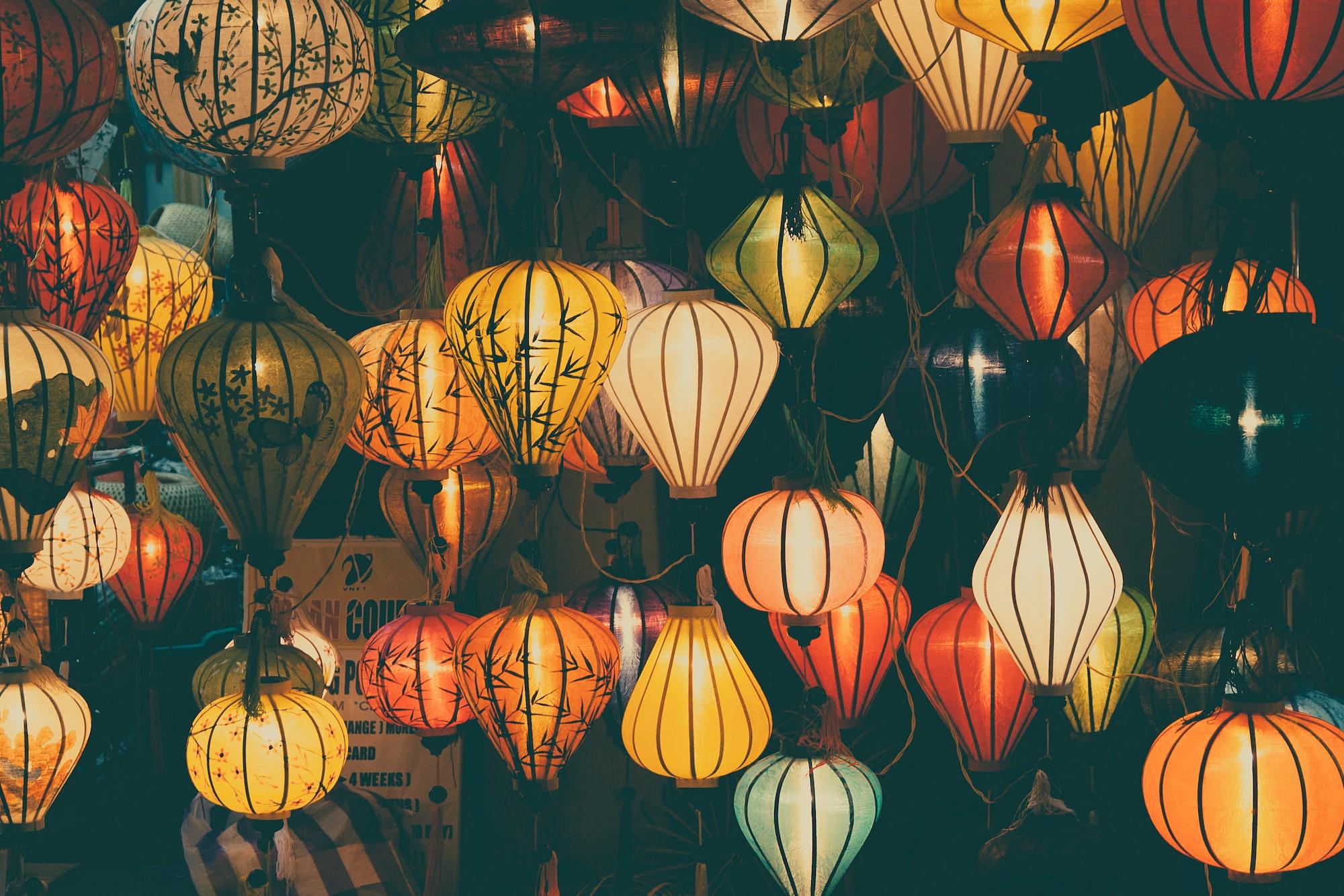 Lampignons at Hoi An